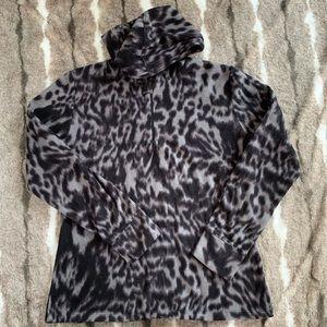 Cuddl Duds fuzzy fleece pullover. Size - L